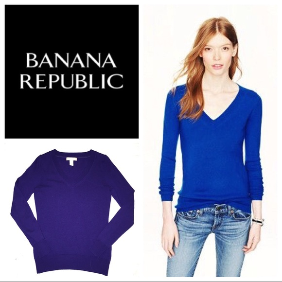 c76e36ffb420 Banana Republic Sweaters - Banana Republic fine merino wool v neck sweater
